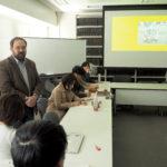 阪大人類学には、しばしば海外からゲスト講師が訪れます